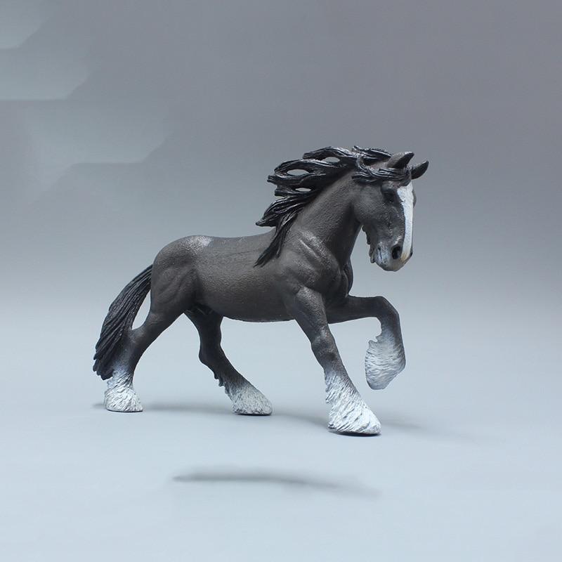 15.5CM Shire Horse Models Famous Figures Toys ...
