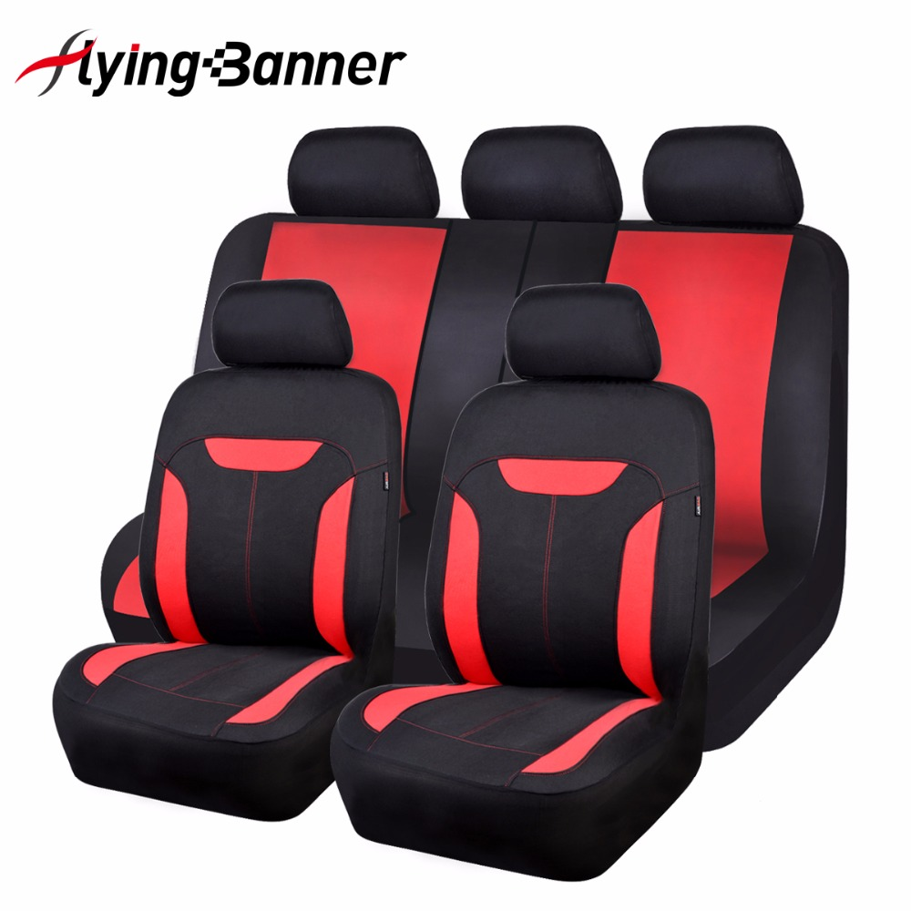 2017 new fashion breathable mesh cloth car seat cover universal fit car covers auto accessories. Black Bedroom Furniture Sets. Home Design Ideas
