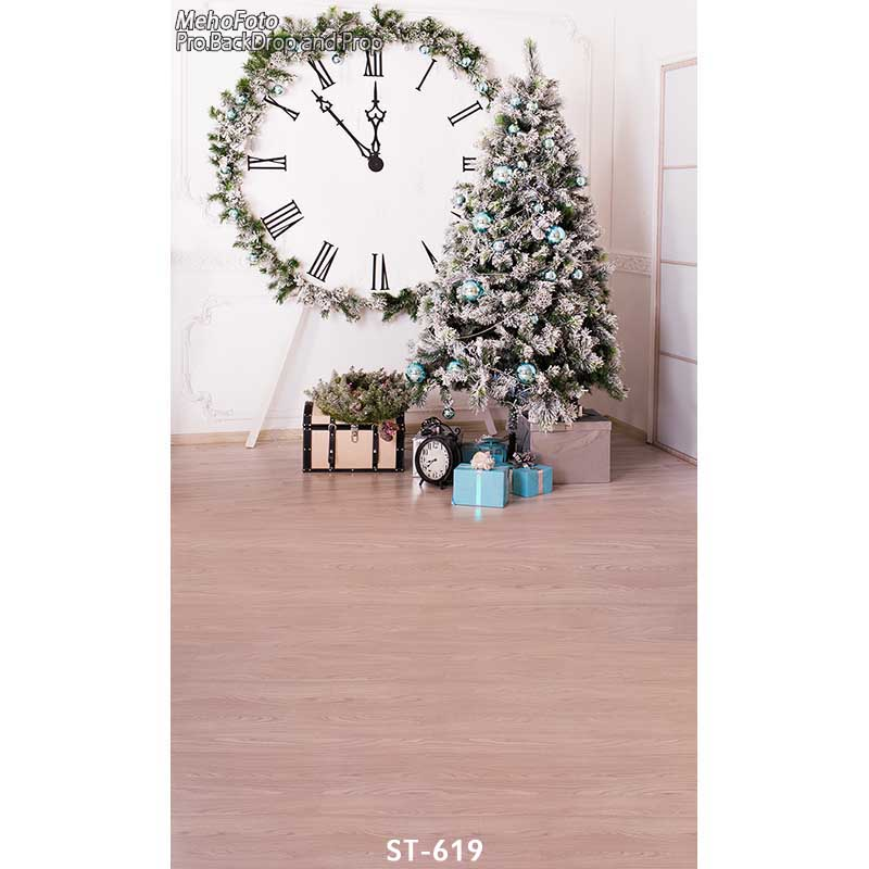 Christmas background vinyl photography backdrops Computer Printed christmas tree for Photo studio ST-619 thin vinyl photography cloth computer printed children photography backdrops christmas theme background for photo studio st 756