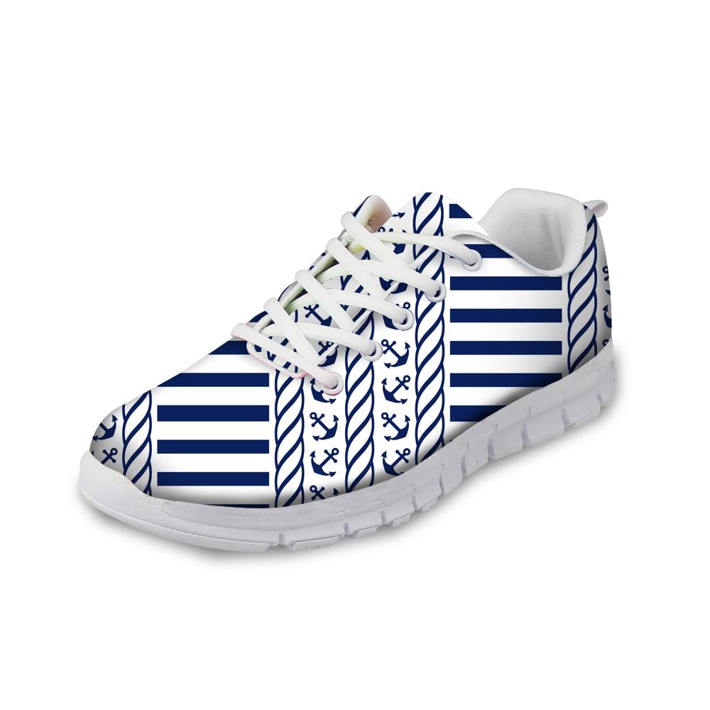 Femmes Léger Custom Aq De Sneakers Femelle Anchor cc2343aq Chaussures cc2345aq Confort Noisydesigns Hot Mode Femme Design Plat Printemps cc2344aq xn6ZYx0wq