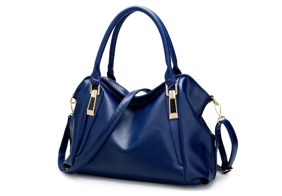 HTB1EY8mXtjvK1RjSspiq6AEqXXaf - Luxury Colorful Women's PU Leather Shoulder Bag