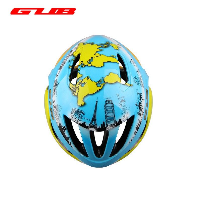 New GUB Map World Map MTB Road Helmet Bicycle Racing/Cycling EPU Integrally Molded Helmet 57~62cm EPS PC Safe Helmet