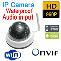 Free shipping Hot Sale Infrared Cctv Security Onvif Ip Camera Wireless Wifi 960p 1.3mp Hd Mini P2p Home security door cameras