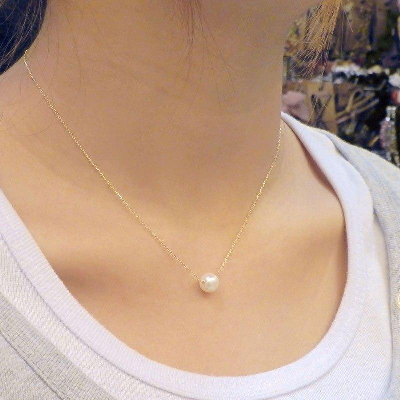 N134 Лидер продаж Стиль модные дешевые супер сладкий имитация жемчуга мяч капли Подвески ожерелья Интимные аксессуары для Для женщин