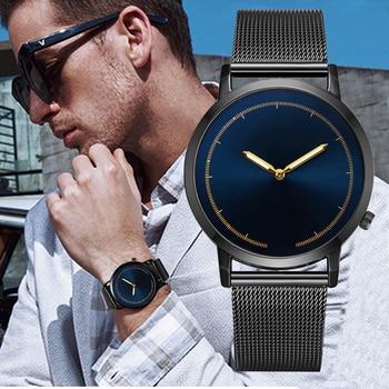 105e8921f816 Alegría marca reloj hombre 2019 clásico de moda de cuarzo de oro de acero  inoxidable reloj de pulsera Relojes hombres reloj relogio Masculino