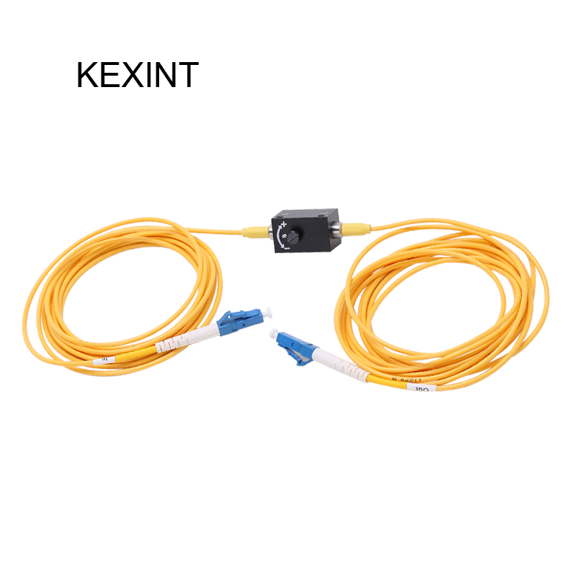 KEXINT Single Mode simplex online Variable Fiber Optic Attenuators with connector LC/UPC