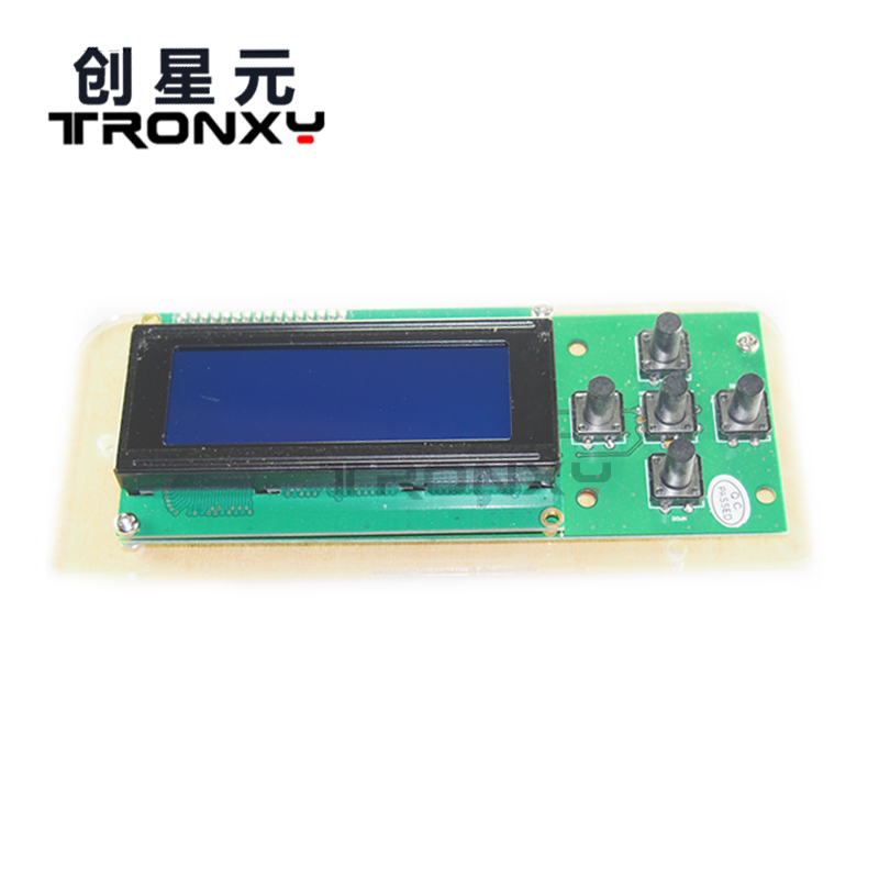 Free shipping 1pcs/lot LCD Board 2004 20*4 LCD Blue screen display LCD module LCD 2004 for arduino