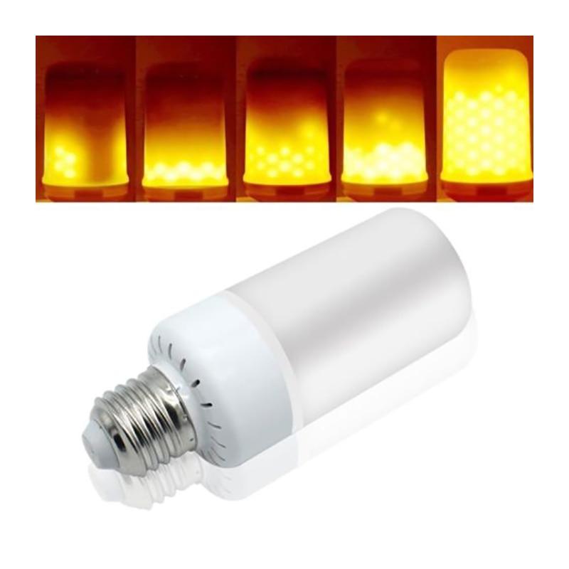 New Arrival 12W E27 E14 Led Flame Lamps LED Flame Effect Light Bulb AC110-240V Flickering Emulation Fire Lights Decorative Lamp