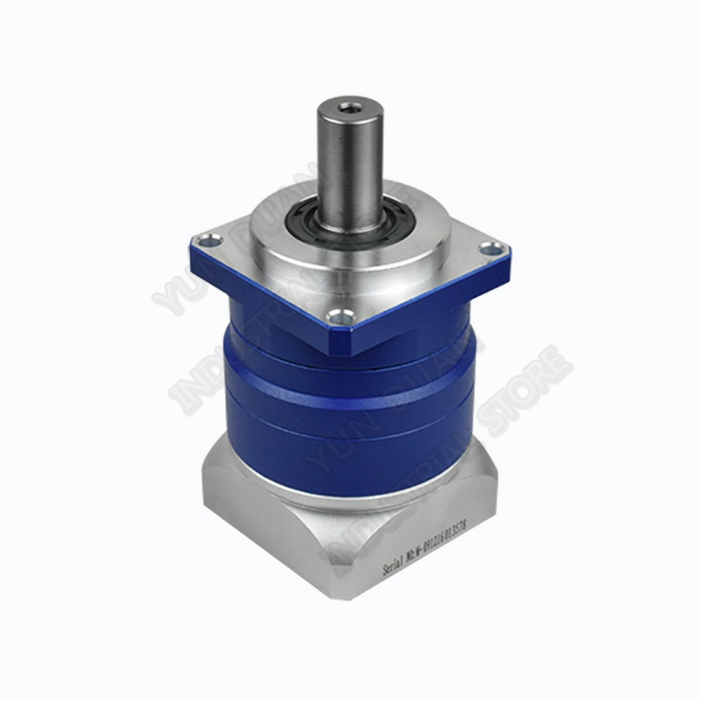 Réducteur planétaire 10:1 À Denture Hélicoïdale NEMA24 3 Arcmin Backlash Réducteur de boîte de vitesses pour 60mm 200 W 400 W Servomoteur Robot Haute Précision