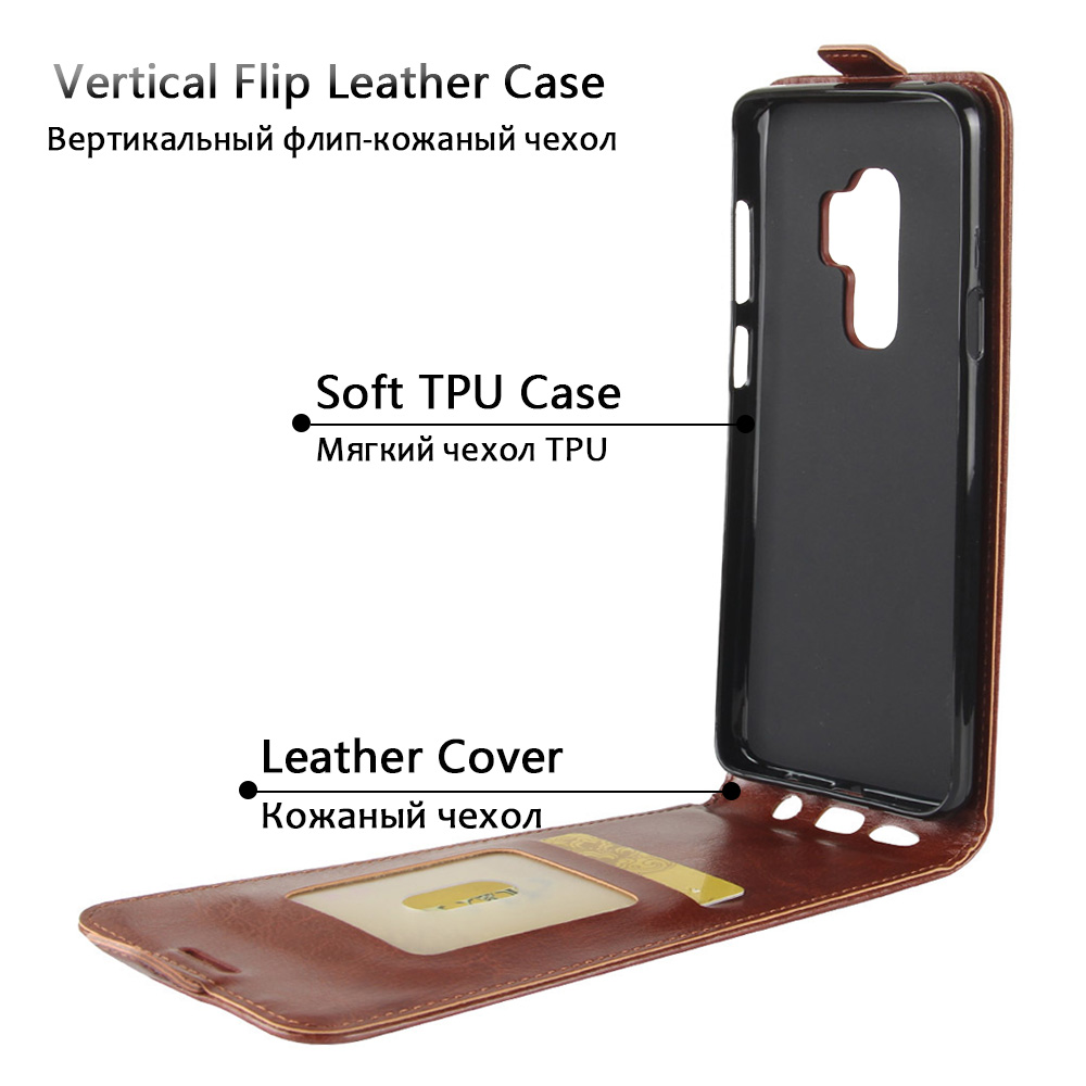 JONSNOW Flip Leather Case for Samsung S8 S9 Plus Phone Cover for Galaxy S10e S10 Plus Cases for Samsung Note 8 Note 9 Capa Coque