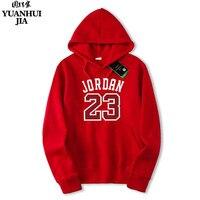 2017 Brand JORDAN 23 Men Sportswear Fashion Brand Print Men Hoodies Pullover Hip Hop Mens Tracksuit