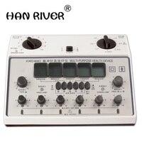 6 Channels Tens UNIT. Multi-Purpose Acupuncture Stimulator Health Massage Device. 808I Electrical nerve muscle stimulator