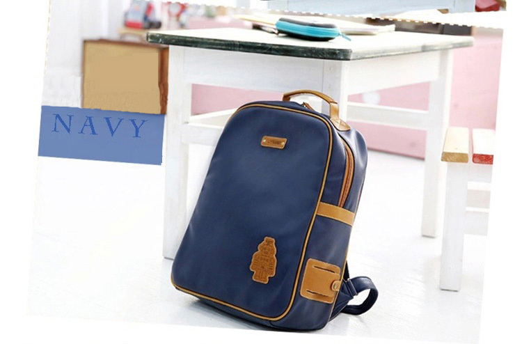 20af4beb48d5 ... Fashion retro bag 3 to 10 years old primary student for boy backpack  good European style ...