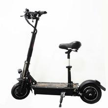 UBGO 1005 В 60 в В/52 в двойной привод 2000 Вт мотор мощный электрический скутер 10 дюймов E-scooter с масляным тормозом
