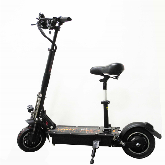 UBGO 1005 60V/52V Double Drive Motor Powerful Electric Scooter 10inch E-Scooter With Oil Brake