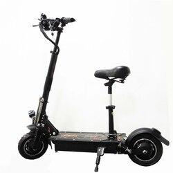 UBGO 1005 V/60 V/52 V DOBLE Drive 2000 W motor poderoso scooter Eléctrico de 10 pulgadas E-Scooter con aceite de freno