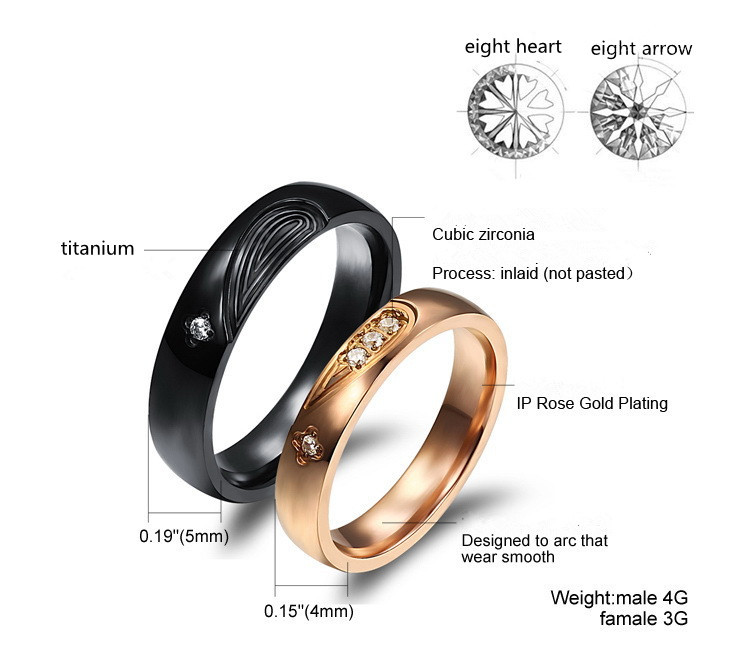 Engagement ring finger for male and female