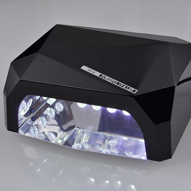 Pro New Detachable 36W UV Gel LED Lamp Creative Curing Manicure ...
