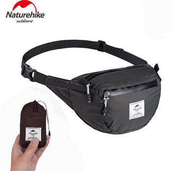 NatureHike Waterproof Waist Bag  Lightweight Waist Pack Bag Travel Hiking Cycling Outdoor Sports Bag Hiking Running Waist Bag kubug outdoor sports shoulder bag hiking running climbing bag casual travel waist bag waterproof chest handbag