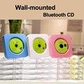 Fábrica de venda quente portátil wall-mounted bluetooth CD mp3 player com FM/USB/AUX pré-natais fidelidade digital amplificador
