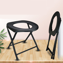 цена на Folding Portable Mobile Commode Chair Backpack Toilet Seat For Pregnant Woman Old Man Camping Beach Backpacking Toilet Seat