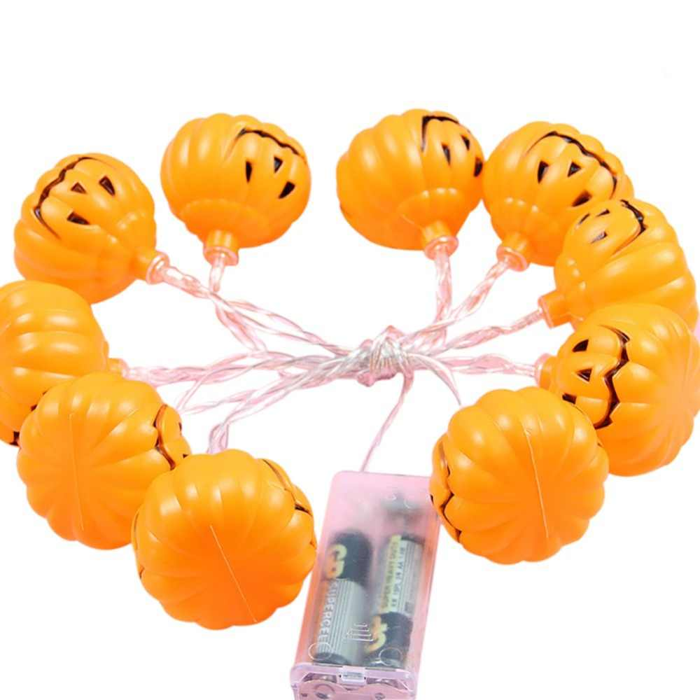 Three Meters Twenty Lights LED Lights Halloween Creative Manual DIY Pumpkin Battery Box Light String