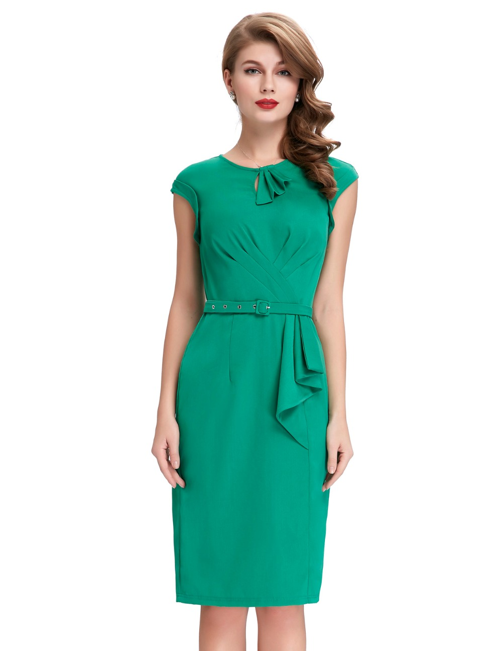 Short prom dresses vintage green pencil dress robe femme belle poque short prom dresses vintage green pencil dress robe femme belle poque cheap 50s style plus size retro bodycon sheath formal gowns in prom dresses from ombrellifo Gallery