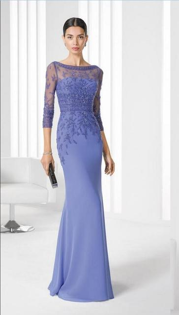 High Quality Sexy Mermaid Mother Of the Bride Dresses with Beadings & Appliques Long Evening Dresses Cusom vestido de madrinha 1