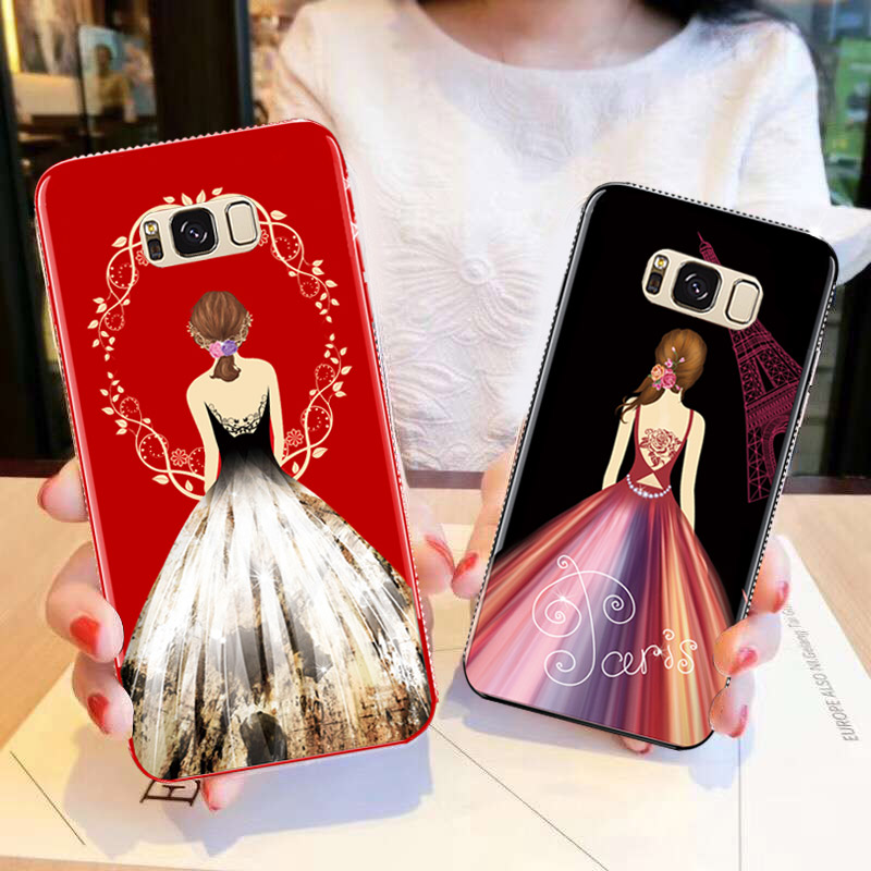Rhinestone TPU 6.2For Samsung Galaxy S8 PLUS Case For Samsung Galaxy S8 Plus Cell Phone Back Cover Case