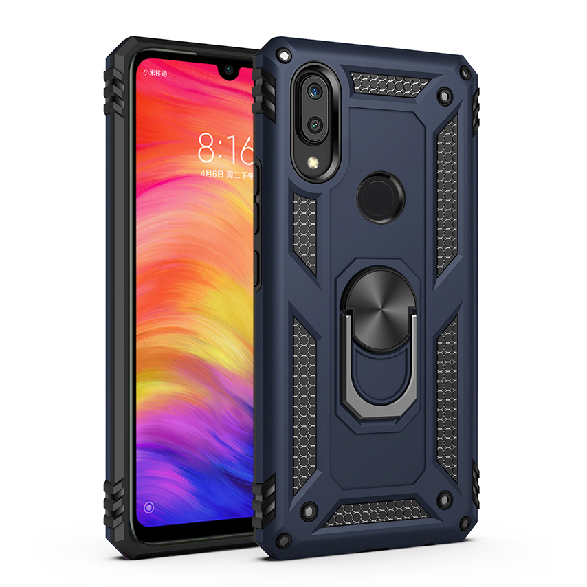Case For Xiaomi Redmi Note 7 Case Redmi Note 7 Silicone Armor Bumper Shockproof Cover Phone Cases Luxury Xiomi Redmi Note7 Cases