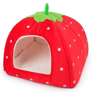 Cute Strawberry Dog House