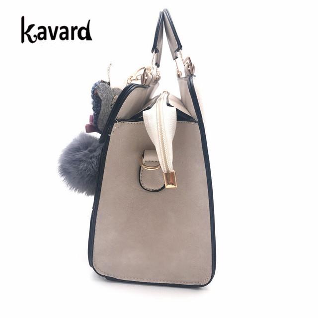 Kavard hechtingen Boston tassen voor vrouwen dames hand tas vrouwen lederen handtassen sac een 2018 vrouw zak handtas vrouwen beroemde merk