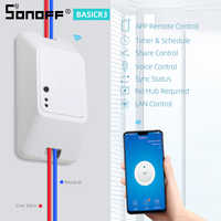 Sonoff Basic R3 Wireless Wifi Switch 10A 100-240V Smart Home Relay Module Remote Controller For Ewelink Google Home Alexa