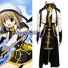Magical Girl Lyrical Nanoha Hayate Yagami Cosplay Costume Freeshipping