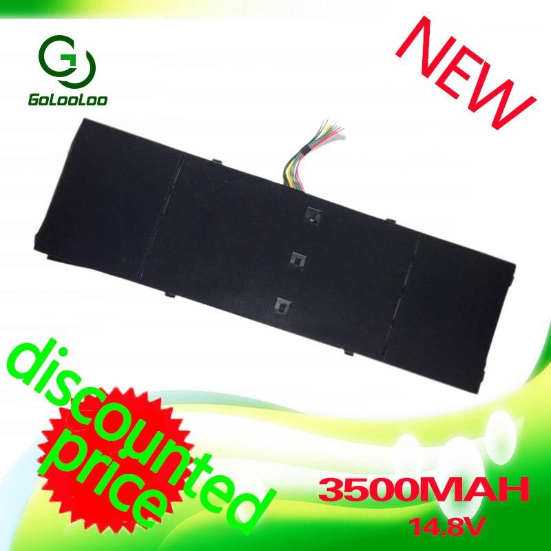 Golooloo 14.8 v bateria do portátil para acer aspire ap13b3k ap13b8k M5-583P r7 V5-572P R7-571 V5-572G V5-572 ES1-511 V5-473PG V5-552PG
