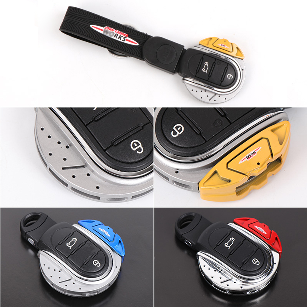 Car Key Bag Key Chain Shell Trim Key Ring Case Protector Cover For Mini Cooper S JCW One F54 F55 F56 F57 F60 Car AccessoriesCar Key Bag Key Chain Shell Trim Key Ring Case Protector Cover For Mini Cooper S JCW One F54 F55 F56 F57 F60 Car Accessories