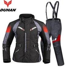 Free shipping 1set Autumn Winter Mens Moto Waterproof Warm Cordura Textile Jacket Motorbike Armours Motorcycle Jacket and Pants