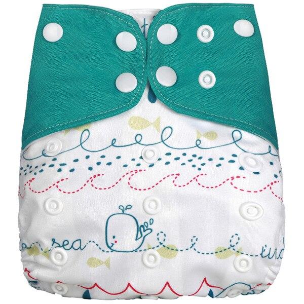 [Simfamily] Новые детские тканевые подгузники, регулируемые подгузники для мальчиков и девочек, Моющиеся Водонепроницаемые Многоразовые подгузники для новорожденных - Цвет: NO7