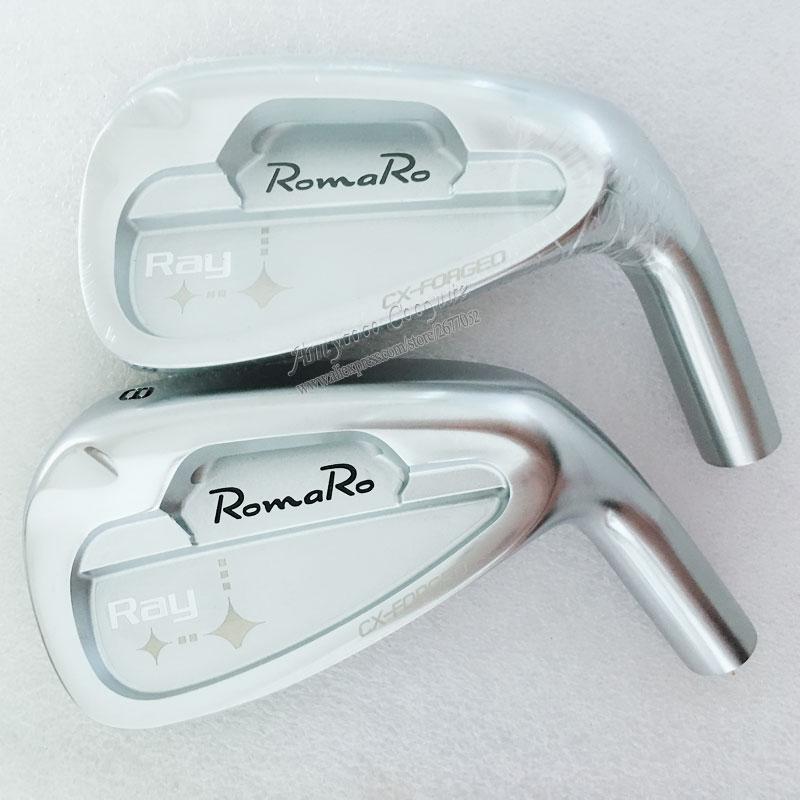 New Men Cooyute Golf heads set Romaro Ray CX Golf irons heads set 4-9 P Golf Clubs head no irons shaft Free shipping 1 sets of tattoo machine high quality