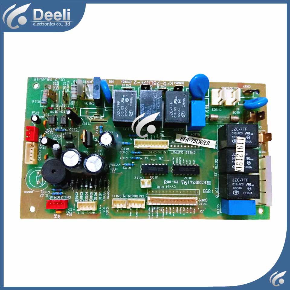 95% new good working for air conditioning computer board KFR-75LW/E-2 KFR-75LW/ED control board working on sale 95% new good working for air conditioning accessories kfr 23 25 26 32 35g m75a computer board motherboard on sale