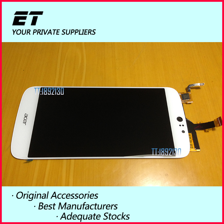 ФОТО 100% Tested New For Acer Liquid Jade S S56 LCD Display + Digitizer Touch Screen Replacement Cell Phone Parts Free shipping