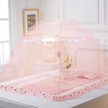 Mosquitera de malla para mosquitos portátil para bebé, dosel de cuna para bebé, mosquitera para cama de verano para bebé, tienda para mosquitos