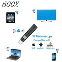 2MP 600x Беспроводной Цифровые микроскопы Wi Fi Цифровые микроскопы Камера с Clear Image для IOS/Android медицинской косметологии инструмент