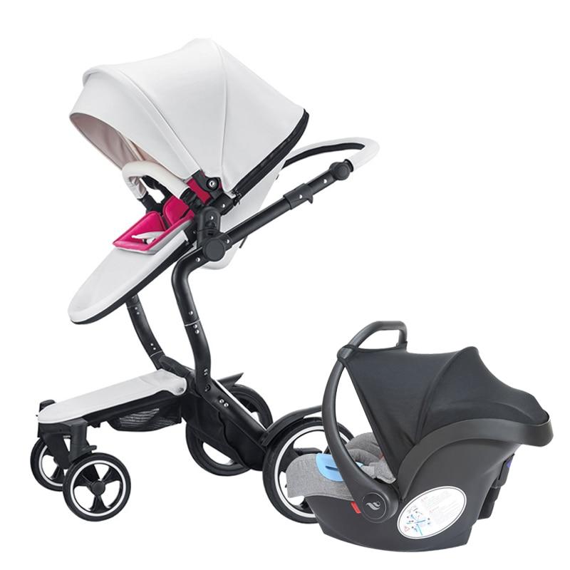 Fast ship! Foofoo 3 in 1 baby strollers and sleeping basket newborn...