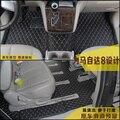 Бесплатная доставка роскошные искусственная кожа автомобильный коврик автомобиль коврик багажного отделения коврик багажника для mazda8 mazda 8 mazda mpv 2006-2016