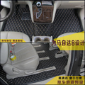 free shipping luxury pu leather car floor mat car trunk mat cargo mat for mazda8 mazda 8 mazda mpv 2006-2016