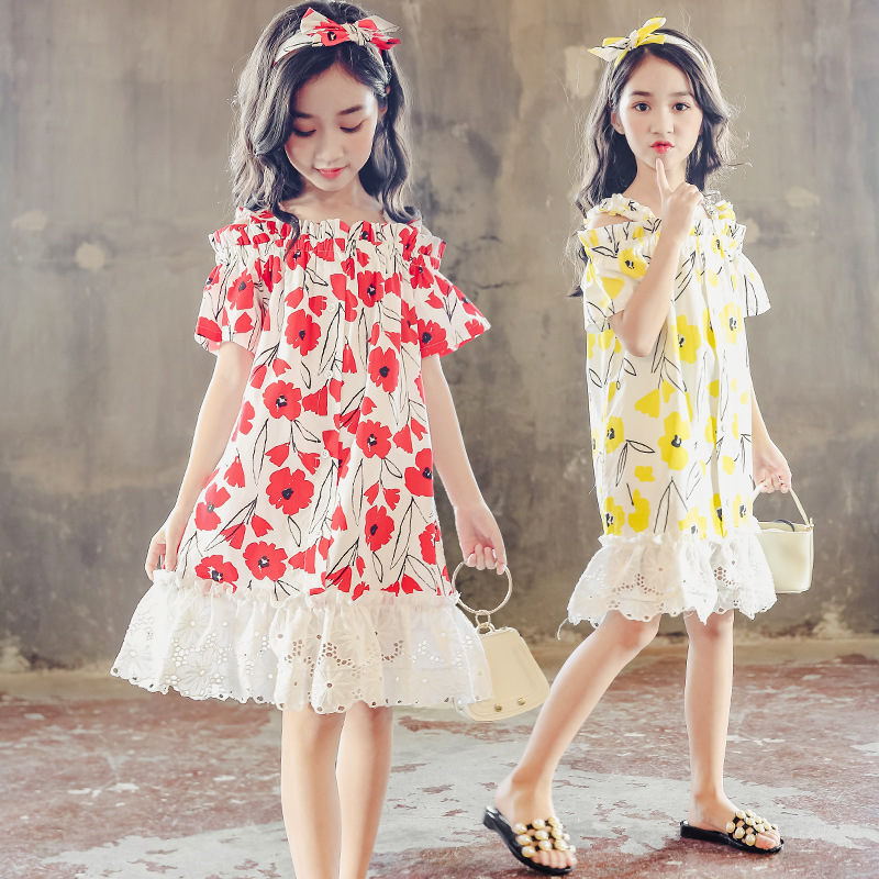 big girl summer dress elegant princess dresses teenage girls clothes kids dresses for girls size 3 4 5 6 7 8 9 10 11 to 12 years eleganzza перчатки eleganzza hp01222 luggage коричневый