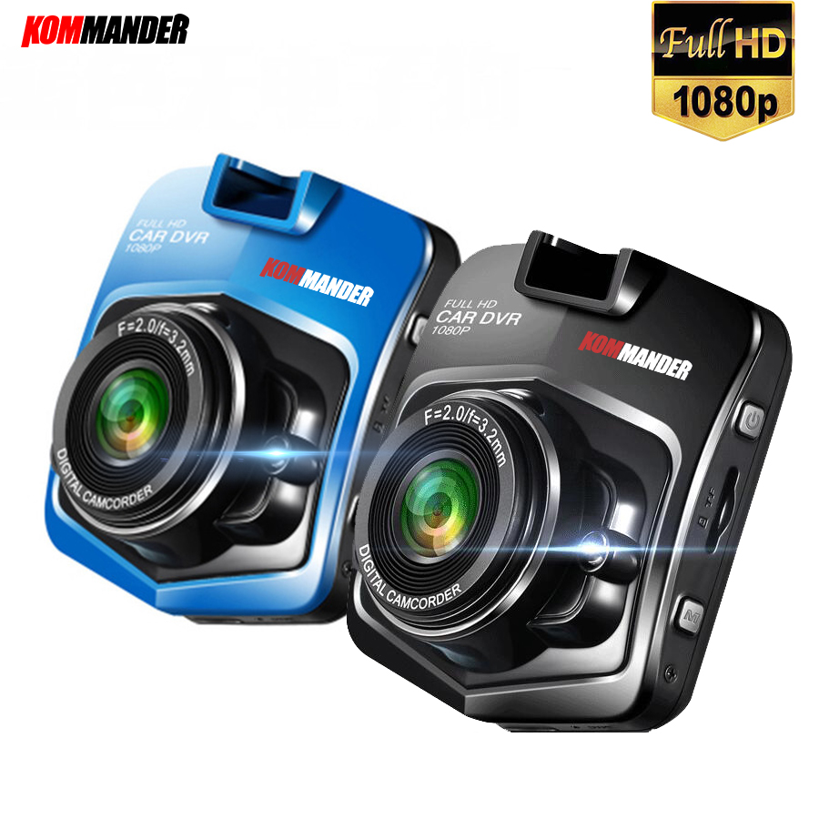 Kommander C1 Mini Car DVR Camera Recorders Full HD 1080P Black box Car Dash Camera Recorders Video Recorder Night Vision