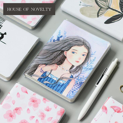 A6 Colorful Warm Sweet Girl Flamingo Bullet Journal Agenda Notebook Diary Pocket Notepad Promotional Gift Stationery