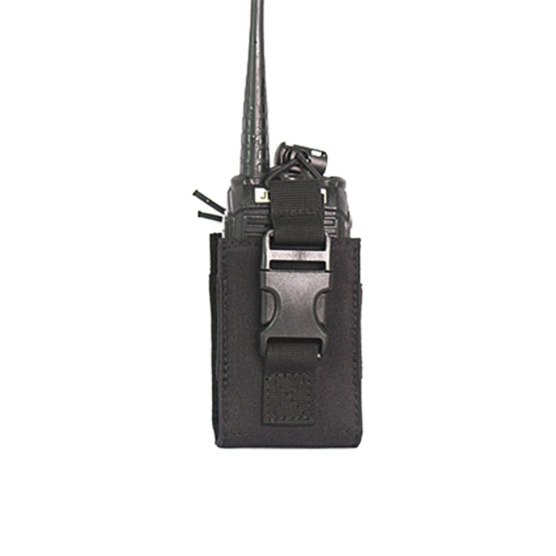 Tactical Molle Interphone Case Molle Pouch System Attachment Interphone Radio Case Walkie-talkie Outdoor Sports Bag